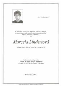 Marcela Lindertová